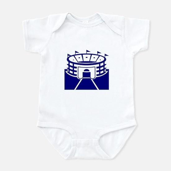 Blue Stadium Infant Bodysuit