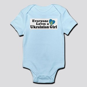 Everyone Loves a Ukrainian Gi Infant Bodysuit