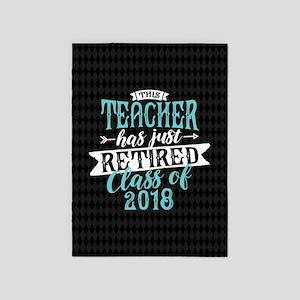 Retired Teacher 5'x7'Area Rug