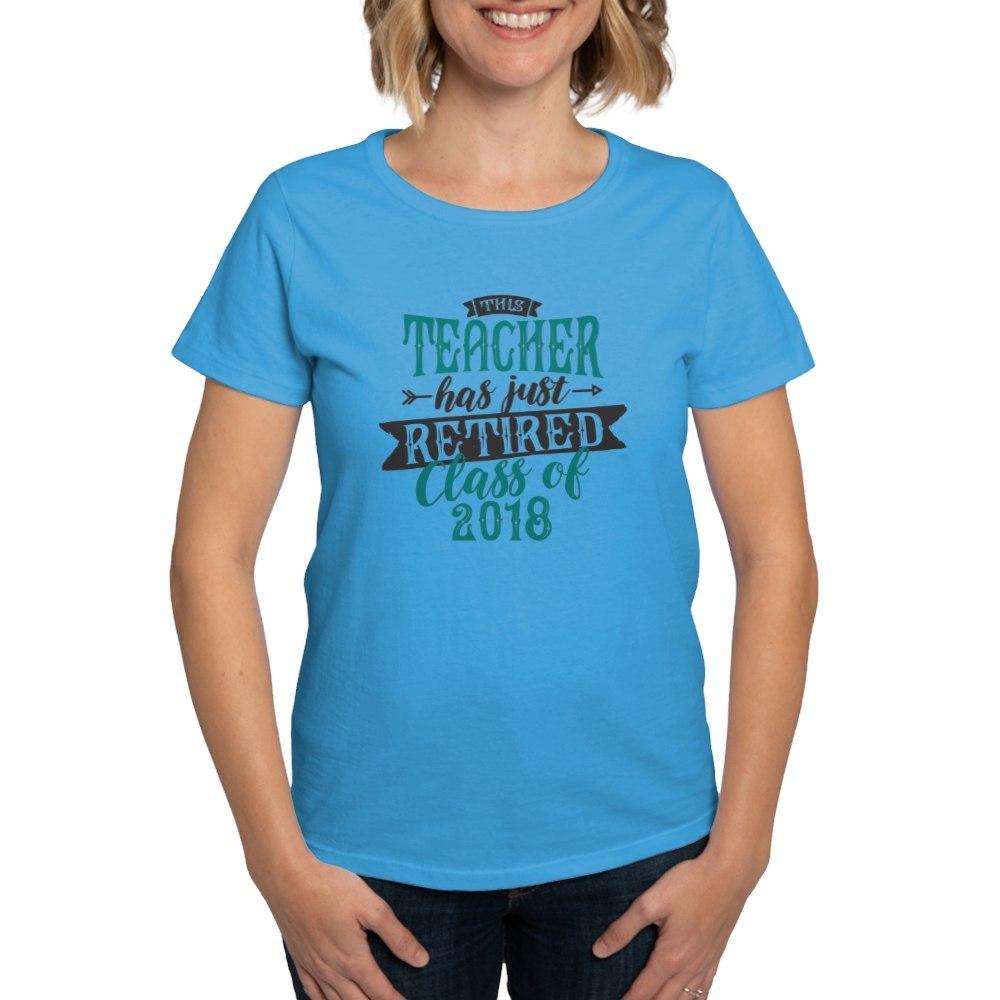 CafePress-Retired-Teacher-Women-039-s-Dark-T-Shirt-Womens-T-Shirt-147889348 thumbnail 50