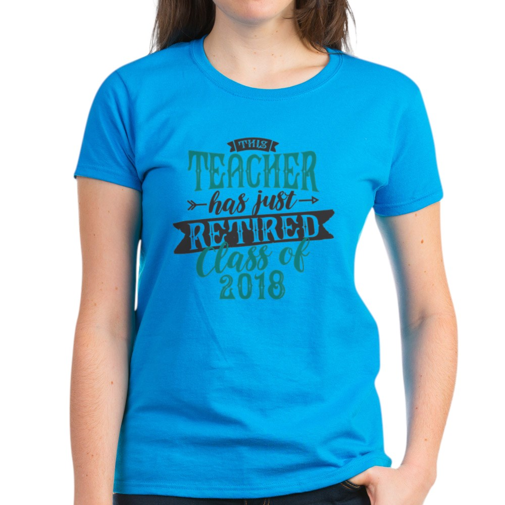CafePress-Retired-Teacher-Women-039-s-Dark-T-Shirt-Womens-T-Shirt-147889348 thumbnail 48