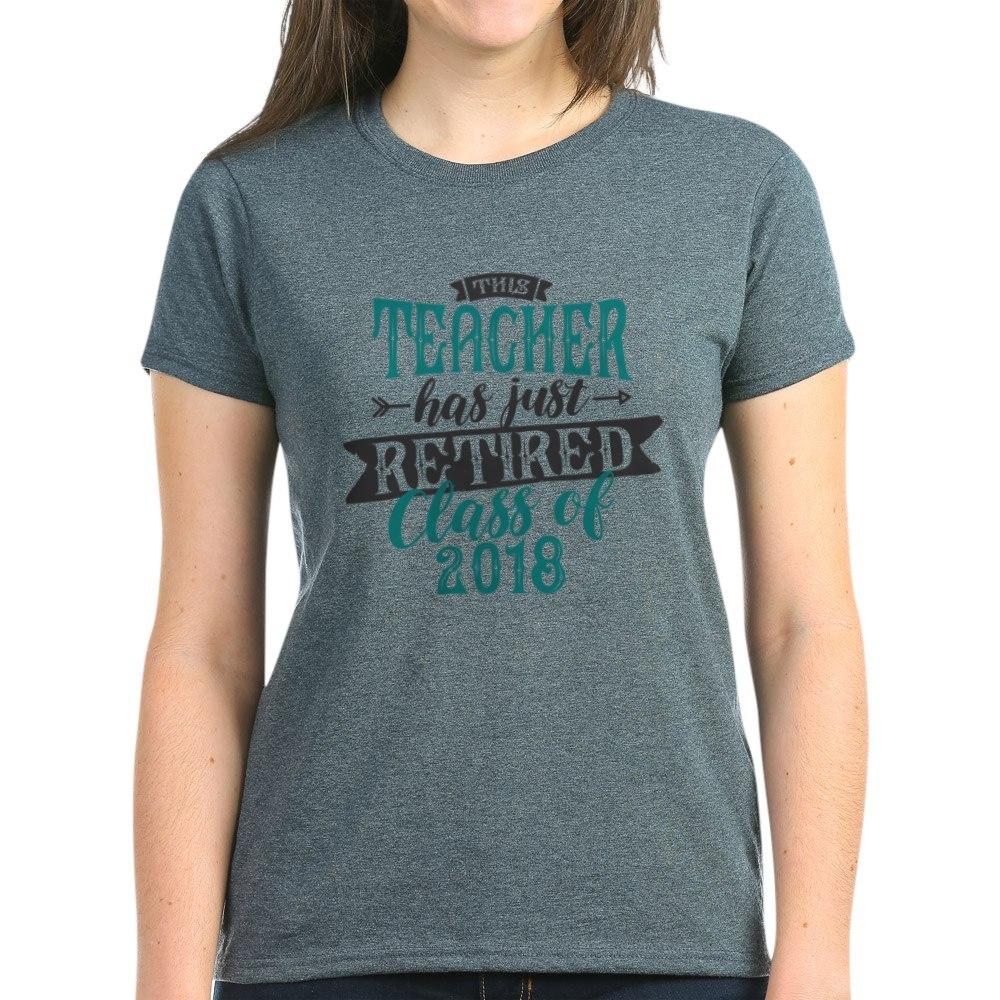 CafePress-Retired-Teacher-Women-039-s-Dark-T-Shirt-Womens-T-Shirt-147889348 thumbnail 60