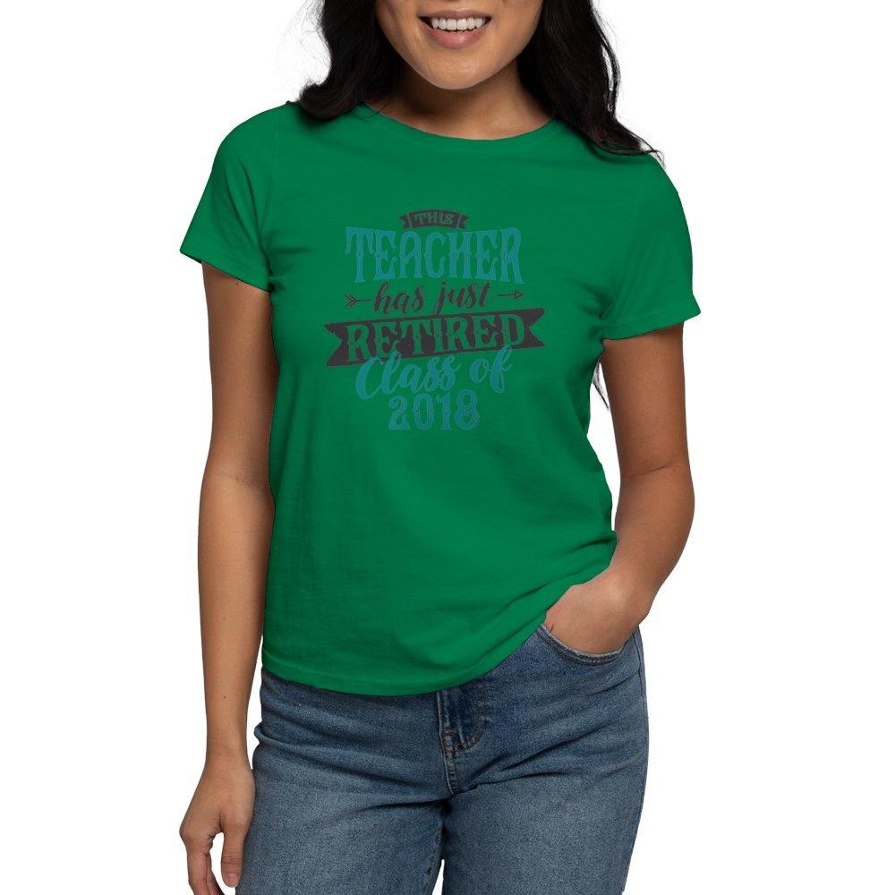 CafePress-Retired-Teacher-Women-039-s-Dark-T-Shirt-Womens-T-Shirt-147889348 thumbnail 64