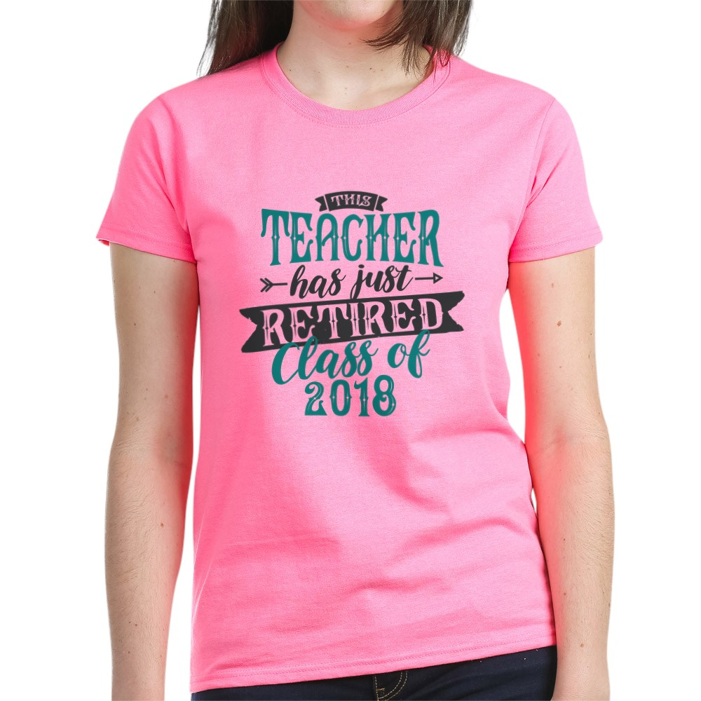 CafePress-Retired-Teacher-Women-039-s-Dark-T-Shirt-Womens-T-Shirt-147889348 thumbnail 24