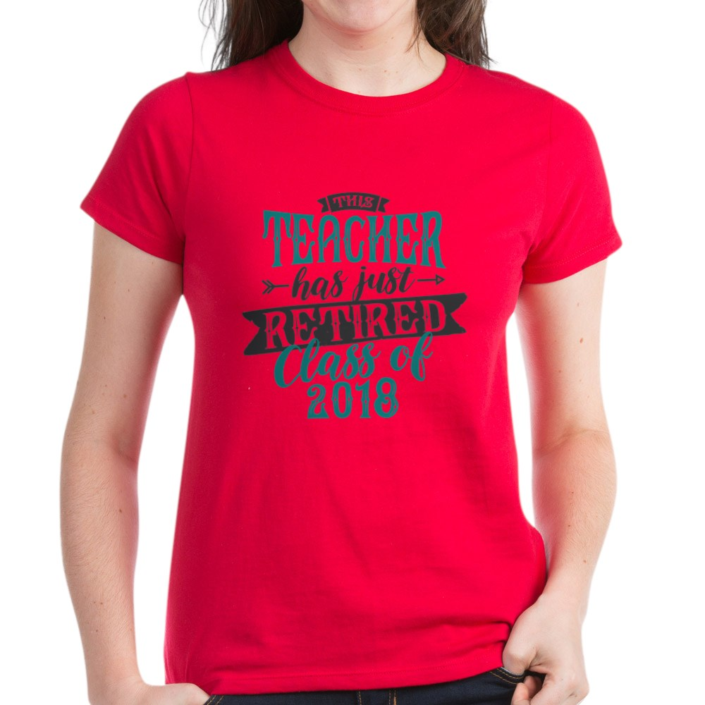 CafePress-Retired-Teacher-Women-039-s-Dark-T-Shirt-Womens-T-Shirt-147889348 thumbnail 18