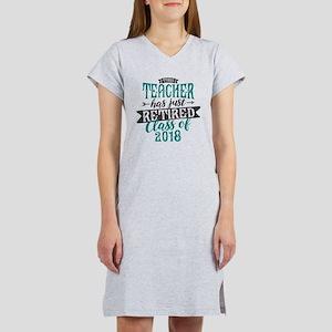 Retired Teacher Women's Nightshirt