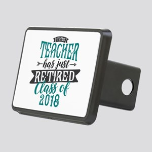 Retired Teacher Rectangular Hitch Cover