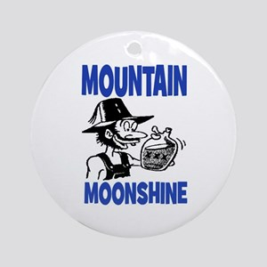MOUNTAIN MOONSHINE Ornament (Round)