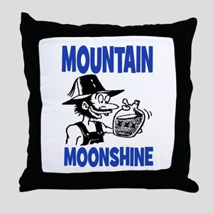 MOUNTAIN MOONSHINE Throw Pillow