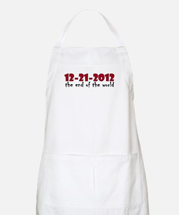 12-21-2012 End of the World BBQ Apron