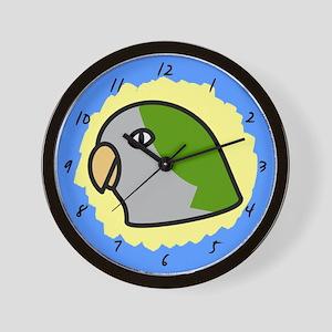 Anime Quaker Parakeet Clock