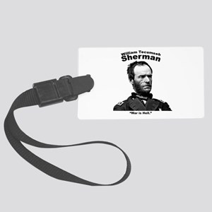 Sherman: Hell Large Luggage Tag