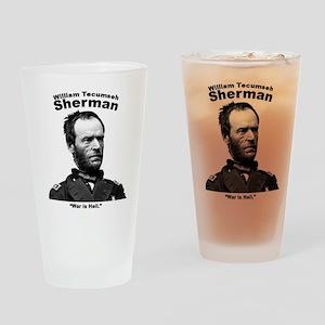 Sherman: Hell Drinking Glass