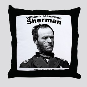 Sherman: Hell Throw Pillow