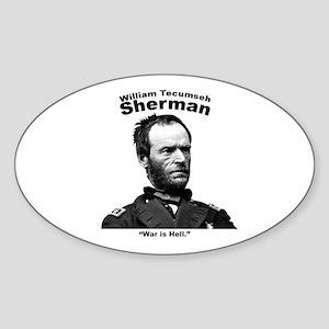 Sherman: Hell Sticker (Oval)