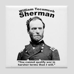 Sherman: War Tile Coaster