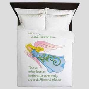 THOSE WHO LEAVE BEFORE US Queen Duvet