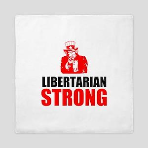 Libertarian Strong Queen Duvet
