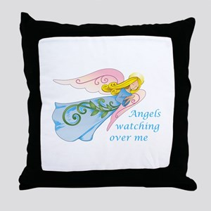 ANGELS WATCHING OVER ME Throw Pillow