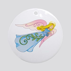 BEAUTIFUL ANGEL Ornament (Round)