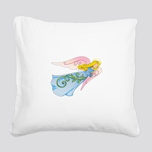 BEAUTIFUL ANGEL Square Canvas Pillow