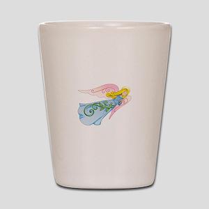 beautiful angel shot glass - Shot Glass Volume