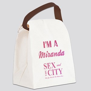 I'M A MIRANDA Canvas Lunch Bag
