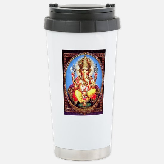 Ganesh / Ganesha Indian Stainless Steel Travel Mug
