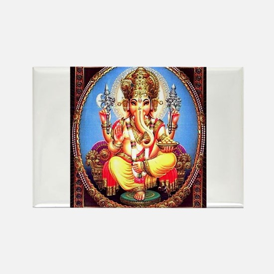 Ganesh / Ganesha Indian Elephant Hindu Dei Magnets