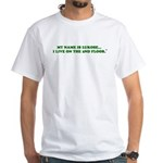 My name is Luka White T-Shirt