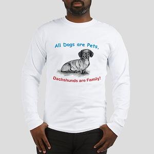 Dachshund Dachshunds Family Long Sleeve T-Shirt