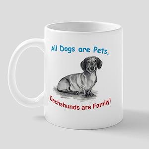 Dachshund Dachshunds Family Mug