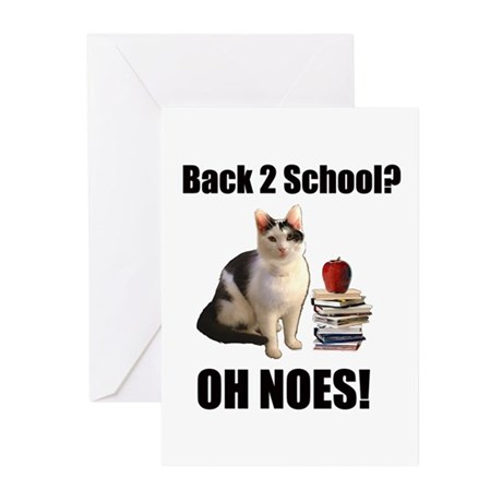 Back 2 School Greeting Cards (Pk of 10)
