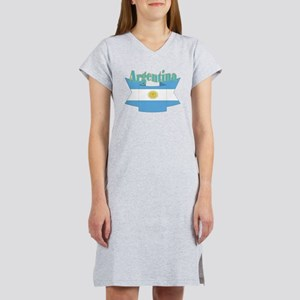 Argentina ribbon Women's Nightshirt