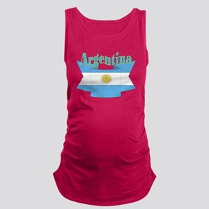 Argentina ribbon Maternity Tank Top
