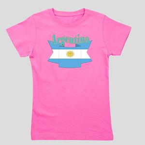Argentina ribbon Girl's Tee