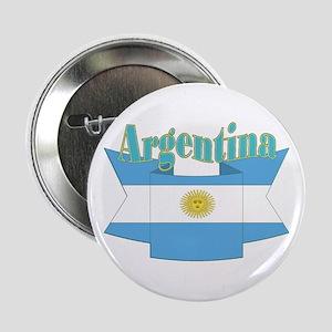 "Argentina ribbon 2.25"" Button"