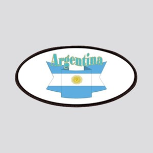 Argentina ribbon Patches