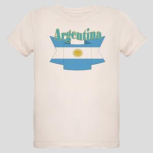 Argentina ribbon Organic Kids T-Shirt