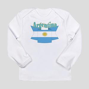 Argentina ribbon Long Sleeve Infant T-Shirt