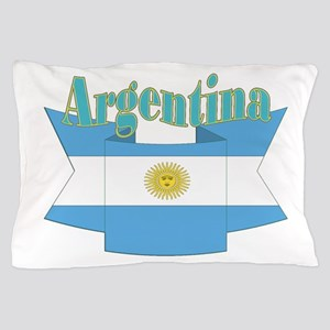 Argentina ribbon Pillow Case