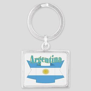Argentina ribbon Landscape Keychain