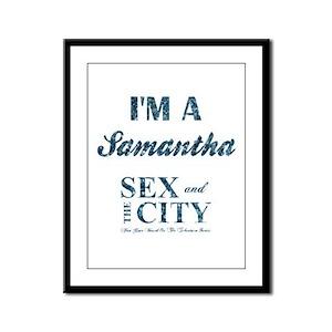 I'M A SAMANTHA Framed Panel Print