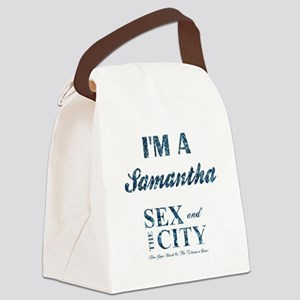 I'M A SAMANTHA Canvas Lunch Bag
