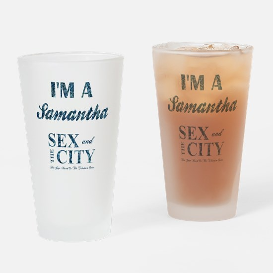 I'M A SAMANTHA Drinking Glass