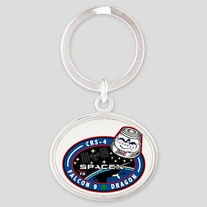 CRS-4 Logo Oval Keychain