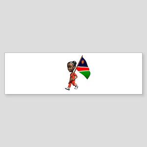 Namibia Girl Bumper Sticker