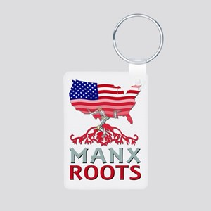 Manx American Roots Keychains