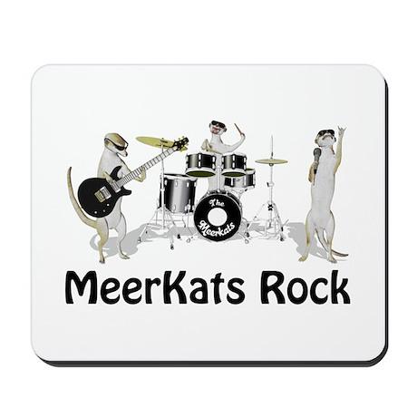 Meerkats Rock Mousepad