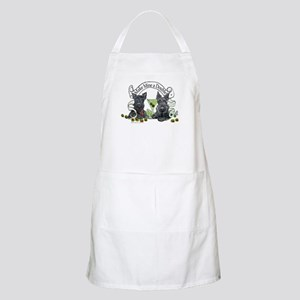 Scottish Terrier Double BBQ Apron
